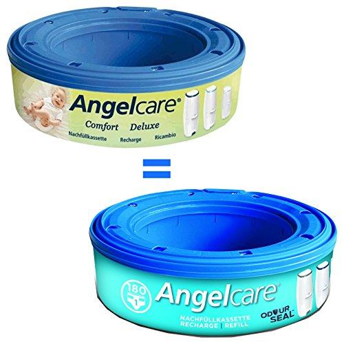 Angelcare 24 Nachfüllkassetten Windeleimer Comfort und Deluxe - 2