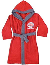 CTI 042785 Cars Ready To Go Peignoir Coton Bouclette Rouge 6/8 Ans