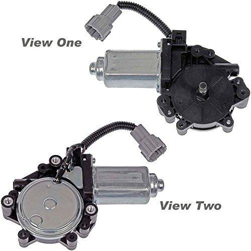 apdty 853638Fenster Lift Motor vorne links für 2004–2012Nissan Titan/2004–2012Nissan Armada/2004–2008Infiniti QX56(passt auch vorne right-passenger vor 2004–2009Nissan Quest) (ersetzt Nissan 80731–9fj0a, 80730-zm70b, - Nissan Motor Titan