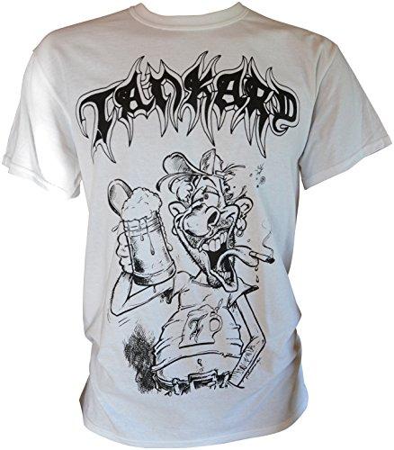 Tankard Freibier Für Alle T-Shirt Weiß