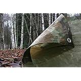 Army Camouflage Tarpaulin 3.5m x 5.4m
