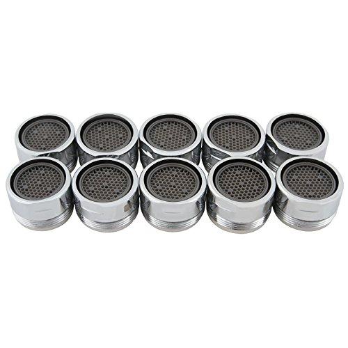 Preisvergleich Produktbild Aquamarin Luftsprudler im 10er-Pack in der Größe von 1,6 cm vermeidet Spritzwasser