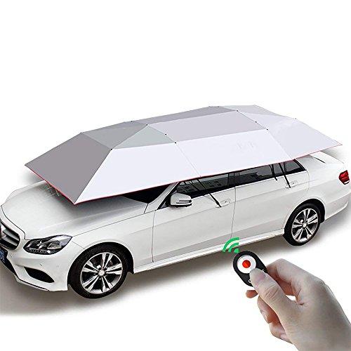 Preisvergleich Produktbild Automatischer Auto-Regenschirm,  Carport-Automatischer Auto-Zelt-Sonnenschutz-Überdachung Faltete Tragbaren Auto-Regenschirm Mit Fernbedienung