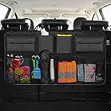 Borse per Bagagliaio Auto, Infrees Organizer Auto Bagagliaio Organizer Sedile Posteriore Multi-Tasca Rete Borse di Stoccaggio per Auto o SUV, Nero - 8 Tasche