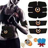 Muskelstimulator EMS WINGLESCOUT*Fernbedienung*Gerät Elektrostimulator Training für Bauch/Arm / Bein Zuhause Fitness für Männer und Frauen