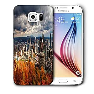 Snoogg Autumn Cityscapes Printed Protective Phone Back Case Cover For Samsung Galaxy S6 / S IIIIII