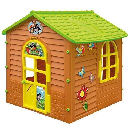 Mochtoys 5907442107548 XL Spielhaus DER KLEINE Maulwurf Gartenhaus Kinderspielhaus