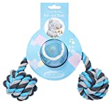 Pet Brands Me to You Dog Ball and Bone Toy