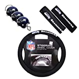 Fremont Die/TeamProMark Offizielles NFL National Football League Fan Shop Authentic Auto Zubehör Bundle, Seattle Seahawks