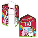 NEU Einladung Farm Babys, 10x12 cm, 8 Stk