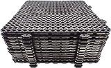 Platte fliese Terrassenfliese entfernbar Nayade Block 30x30 - Pack 12 Einheiten.Ideal für Umkleideräume, Schwimmbäder, Gärten, Spas, Hundefriseur. Für innen und außen
