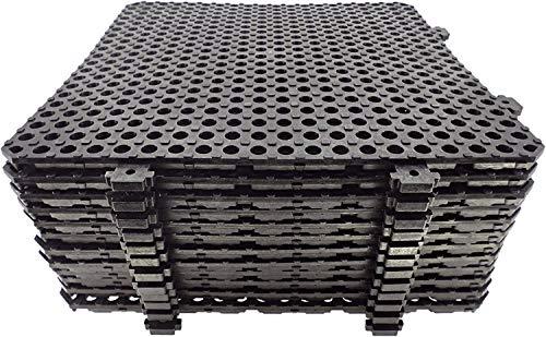 Losa tarima desmontable Náyade Block 30x30 - Pack 12 Uds. Ideal para vestuarios, piscinas, jardines, spas, peluquerías caninas.