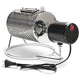 Tutoy 110V Electric Edelstahl Kaffeeröster Roller Baker Home Bean Backen Röstmaschine