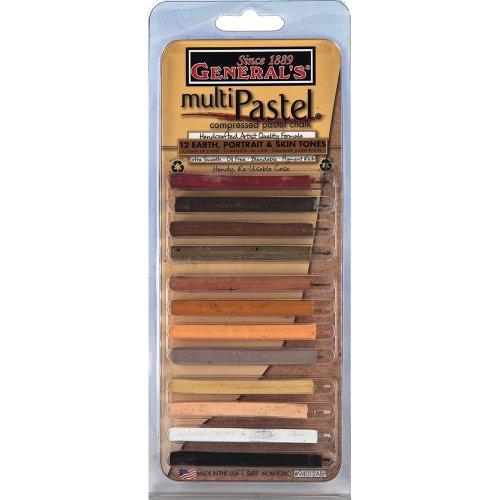 general-pencil-various-multipastel-compressed-chalk-sticks-12-kg-earth-portrait-and-skin-tones