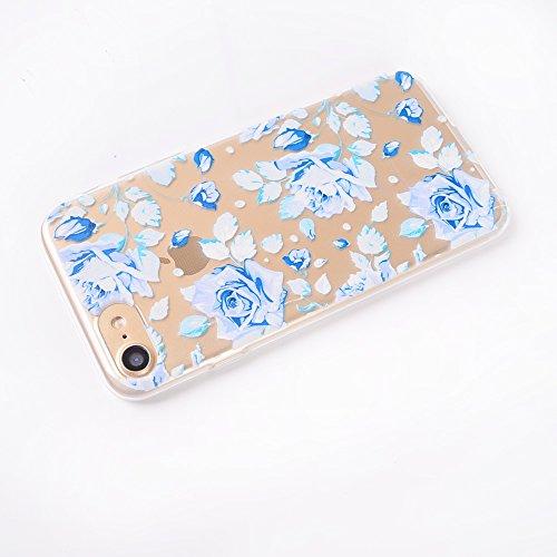 ZeWoo TPU Schutzhülle - TT009 / Blumenfarbe - für Apple iPhone 6 Plus (5.5 inches) Silikon Hülle Case Cover TT001