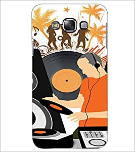 PrintDhaba Music D-4117 Back Case Cover for SAMSUNG GALAXY A8 (Multi-Coloured)