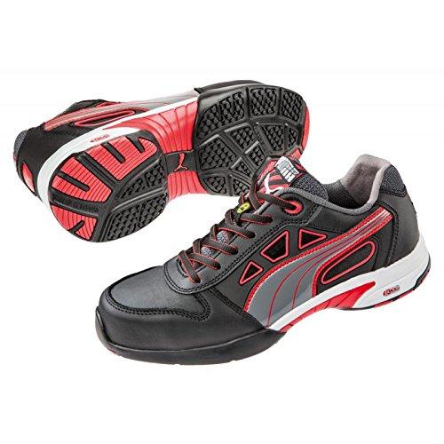 Puma Safety Chaussures de sécurité femme Stream Red Wns Low 64.284.0 Chaussures de sécurité S1 ESD HRO SRC