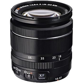 Fujifilm 18 - 55 mm f/2.8 - 4.0 XF R LM OIS - Objetivo para Fujifilm (distancia focal 18-55mm, apertura f/2.8-22, estabilizador, diámetro: 58mm) color negro
