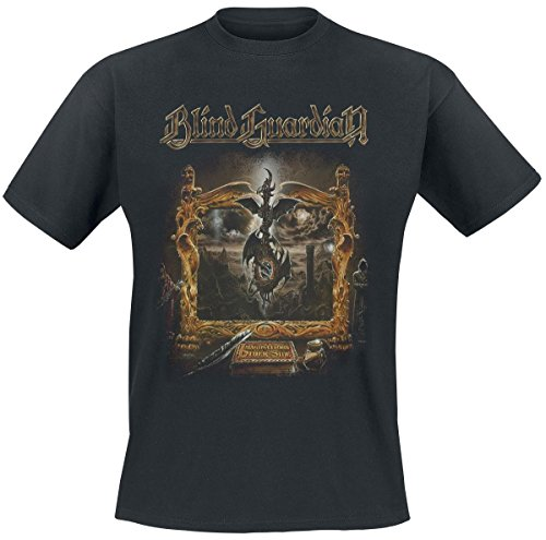 Blind Guardian Imaginations Camiseta Negro M