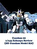 Review: Gundam 00 1/144 Zabanya Review (HG Gundam Model Kit) [OV]
