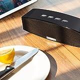Anker A3143 Premium Stereo Bluetooth 4.0 Lautsprecher Speaker, 20W Audio Output aus Dual 10W Drivers, Kraftvollem Bass und Hoher Lautstärke für iPhone, iPad, Samsung, Nexus, HTC und Weitere (Schwarz) -
