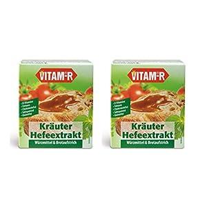 """Vitam-R Kräuter Hefeextrakt das Original 2x125g Glas """"DOPPELPACK"""""""