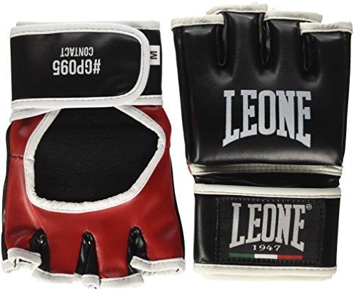 Leone 1947 Contact Guanti MMA, Nero, M