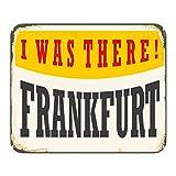 Mauspad Reisen Küche Frankfurt Deutschlad Bedruckt