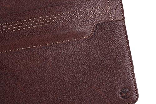 Timberland In pelle unisex Tablet Sleeve Duxbury Marrone 3