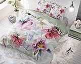dreamhouse Bettwäsche Baumwolle Blumen Wasser