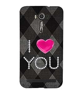 EPICCASE love blocks Mobile Back Case Cover For Asus Zenfone 2 Laser ZE550KL (Designer Case)
