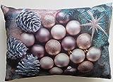 Sander Weihnachten Glam Balls Kissen gefüllt 35x50cm Farbe 40 mehrfarbig (98685)