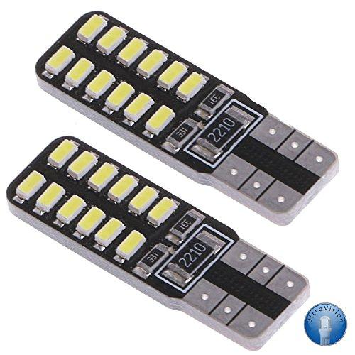 Preisvergleich Produktbild UltraVision LED 501 Standlicht, 12 V, 5 W, 2er Pack - Reinweißes Licht 6000 K