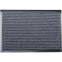 Vosarea Alfombrilla de Baño de PVC Antideslizante Suave Espesor para Piso Puerta Suelo Cocina 40 x 60cm (Gris)