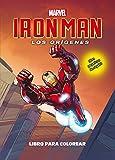 Iron Man. Los orígenes. Libro para colorear: ¡Con pegatinas de regalo! (Marvel. Los Vengadores)