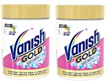 Vanish Oxi Action Crystal Detachant Blanc Gold 470 g - Lot de 2