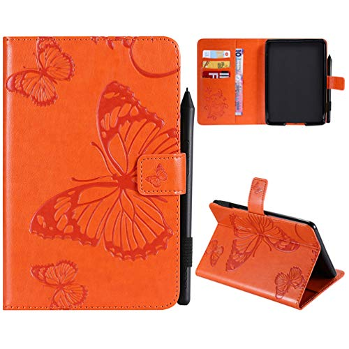 Kindle Paperwhite Hülle Kunstleder Tasche Schutzhülle Hardcover Cover für kindle paperwhite 10th Generation 2018/kindle paperwhite 1 2 3 Version Schmetterling Falten Kartenfach Ständer Anti-Fall Etui - Fall 2 Kindle-version