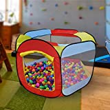 #5: PIGLOO® Pop-up Play Tent House for Kids Ages 3+ Years, 140 x 128 x 75 cm, 1 Piece