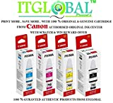 #3: Canon Combo Ink Bottle Black & Color ( GI 790 B/C/Y/M ) [Set of 4 Bottle] -Special ITGLOBAL Combo With Scratch & Win Offer