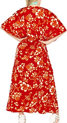costume da bagno abito abito abito lungo caftano donne beachwear kimono coprire costumi da bagno Rosso