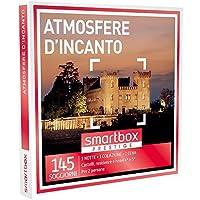 Smartbox - Cofanetto Regalo - ATMOSFERE D'INCANTO - 145 soggiorni con gusto in castelli, hotel 4* e 5*, dimore raffinate