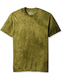 The Mountain Unisexe Adulte Delave Vert Cypres T Shirt