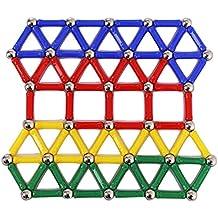 PIXNOR Magnetica Giocattolo bastoni intelligenza educativo giocattoli 103pcs