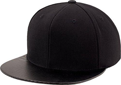 Flexfit Mütze Snapback, Black/Carbon, One Size, 6089CA-00652-0050