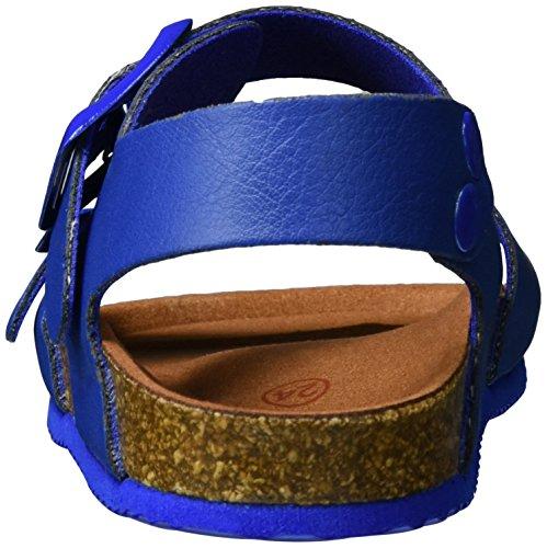 Garvalin 172346, Sandales  Bout ouvert garçon Blau (Azul Electrico)