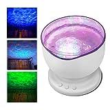 Projektor Lampe - Moonlife99 Nachtlicht Baby - Aurora Master- Ozean Nachtlicht - Romantische Projektor Licht für Wohnzimmer - Geschenke zur geburt - Bebek Odası