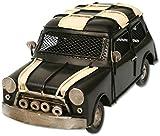 Auto aus Metall schwarz mit Spardose PKW Oldtimer Nostalgie Mini
