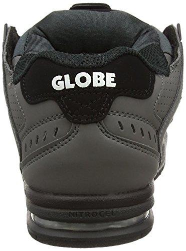 Globe Sabre, Scarpe da Skateboard Uomo Grigio (Charcoal/Black)