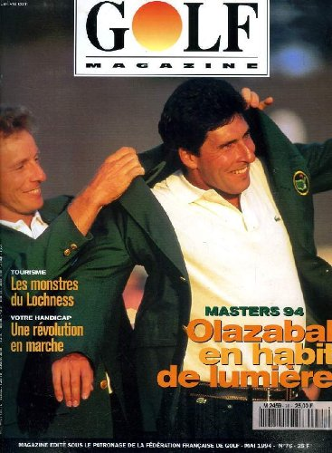 GOLF MAGAZINE, N° 76, MAI 1994