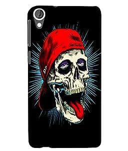 Citydreamz Ghost/Monster/Dark/Fear/Blood/Eyes/Joker/Horror Hard Polycarbonate Designer Back Case Cover For HTC Desire 630/ HTC Desire 630 Dual Sim